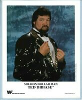 WWE TED DIBIASE P-231 OFFICIAL LICENSED AUTHENTIC ORIGINAL 8X10 PROMO PHOTO RARE