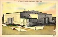 Vintage Postcard - Memorial Auditorium Building Buffalo New York NY #4506