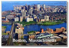 Skyline of Boston, Massachusetts ~ Souvenir 2 x 3 Photo Fridge Magnet MB001