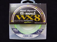 YGK - Real Sports G-SOUL WX8 150m 16lb OVER #1
