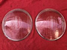 VW Beetle oval window / Porsche 356 Bosch exact matching headlight glass Germany
