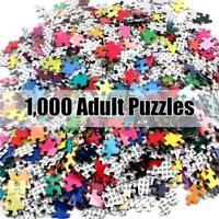 Puzzle 1000Piece Jigsaw Puzzle Kids Adult Thousand-color fireworks Jigsaw S7U5