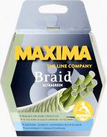 Maxima Braid 8 Ultragreen 20lbs Premium Construction 100m Spool Fishing Line