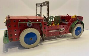 meccano jeep mainly using old parts