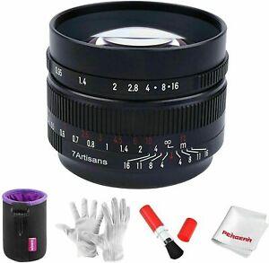 7artisans 50mm F0.95 Large Aperture Lens For APS-C Fuji X Mount X-A2 X-A3 X-A5