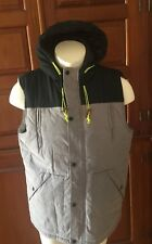 NEW MENS 2XL AMERICAN STITCH Hoodie Cotton PUFFER VEST / PROMPT SHIP