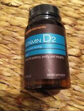 Amazon Elements Vitamin D2 50 mcg Vegan, 65 Caps EXP 5/22