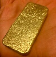 103 grams Scrap gold bar for Gold Recovery melted different computer coin pins