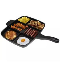 Magic Pan Non-Stick Multi-Section 5-in-1 Frying Grill Hob Magicpan UK SLR