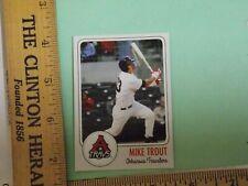 Mike Trout Minor League Rookie Card # 23 Arkansas Travelers Travs