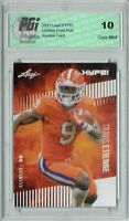 Travis Etienne 2021 Leaf HYPE! #53 Only 5000 Made Rookie Card PGI 10