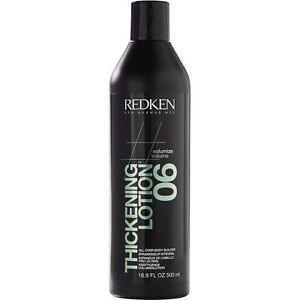 Redken VOLUME THICKENING LOTION 06 ALL OVER BODY BUILDER 16.9