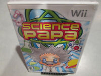 Science Papa Nintendo Wii Brand New Factory Sealed Wii U Fast Free Shipping!