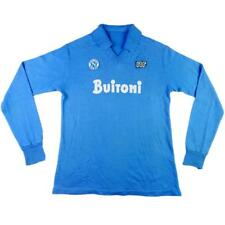 1985-86 Napoli Maglia Home Match Worn #4 Bagni (Top)  SHIRT MAILLOT TRIKOT