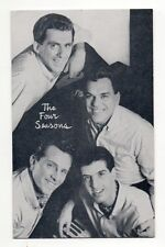 The Four Seasons 1960's Bio Back Billboard Exhibit Arcade Card