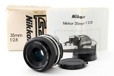 Excellent+++++ w/ Box Nikon Ai NIKKOR 35mm f/2.8 Lens From Japan
