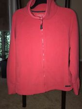 Calvin Klein Performance Zipup Jacket, Pink Size XSmall, quick dry, cowl neck