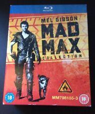 Mad Max Trilogy (Blu-ray, 2013, 3-Disc Set, Box Set)