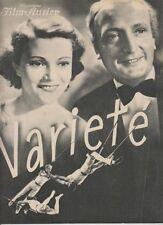 VARIETE (BFK 2358, 1934) - HANS ALBERS / ZIRKUS