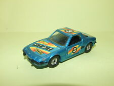 FIAT X1/9 Bleu Version course CORGI 1/36