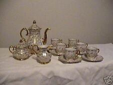 Porcelain Tea Set Pitcher Creamer German Bavarian Sugar