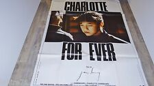 serge gainsbourg CHARLOTTE FOR EVER !   affiche cinema