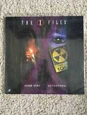 X-Files - Piper Maru / Apocrypha - Laserdisc - David Duchovny - RARE