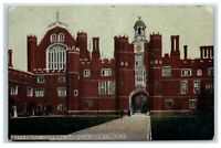 Postcard Hampton Court Palace West Front Gateway