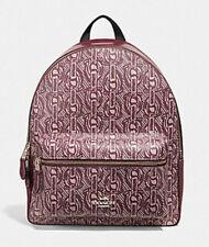 ❤️ NWT Coach Charlie Medium Backpack BAG GYM TRAVEL BOOKPACK HANDBAG