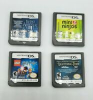 *×* Nintendo DS Game Cartridge Lot - 4 Games! - Cartridges Only - DSi 3DS 2DS XL