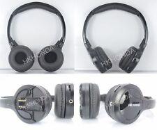 2pc Infrared Stereo Wireless Headphones  Kids best Headset IR for Car DVD Player