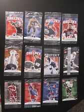 Gretzky 12 Post Cards.  1995-1999  ALL FACTORY SEALED.