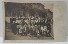 Manheim Pennsylvania RPPC Large Group Family Local Home Photo circa 1914-1917