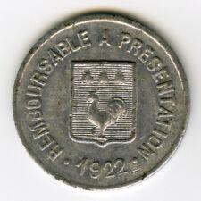 ► MONNAIE DE NECESSITE FRANCE 1922 ☆ MAZAMET ★ 10 CENT • E.ALQUIER FRERES ☆C2655