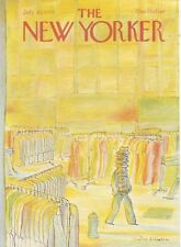 COVER ONLY New Yorker magazine ~ July 30 1979 ~ MIHAESCO ~ Garment district