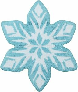 Disney FROZEN Snowflake Bath Rug Mat Bathroom