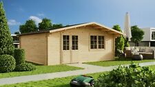 40mm Gartenhaus 600x500 cm Gerätehaus Holzhaus Holz Blockhaus Schuppen Hütte Neu