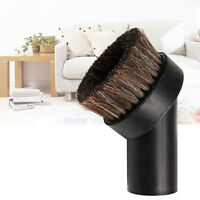 Horse Hair Round Dusting Brush Dust Attachment for Vacuum Cleaner Dia. 32mm. HOT