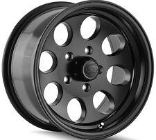 """4-NEW Ion 171 15x8 5x114.3/5x4.5"""" -27mm Matte Black Wheels Rims"""