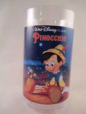 Pinocchio Plastic Glass ~ Disney Classic Collector Series ~ Coke ~ Burger King