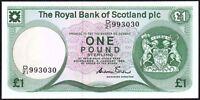 1985 ROYAL BANK OF SCOTLAND PLC £1 BANKNOTE * D/21 993030 * UNC *