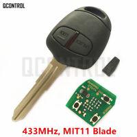 Remote Key fob for MITSUBISHI Outlander Pajero Montero Triton ASX Lance 433MHz