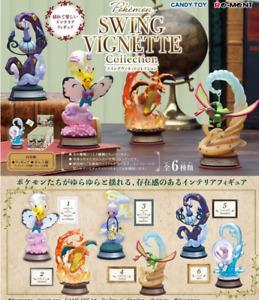 Pokemon SWING VIGNETTE Collection 6 type set Japan NEW Pocket Monster