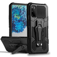 For Galaxy S21/S20 Plus/S20 Ultra/NOTE 10 NOTE 20 Shockproof Case Clip Cover