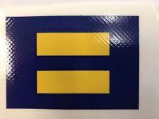 "New Gay Pride ""Human Rites Campaign"" Sticker / Decal Rainbow Lesbian LBGT"
