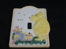 Disney Classic Winnie the Pooh Ceramic Light Switch Cover Charpente Honey