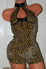 S100(5) ANN SUMMERS KITTY role play fancy dress elasticated  jump suit size 10