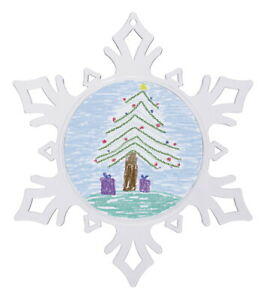 Snapins Snowflake Ornament, Pack of 24