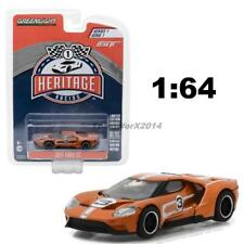 Greenlight 1:64 Hobby Exclusive 2017 Ford GT Michelin Tires Chase Car 29945
