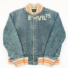 Vintage G-STAR Sherpa-Fleece Denim Jacket | Mens XL | Jeans Bomber Retro Varsity
